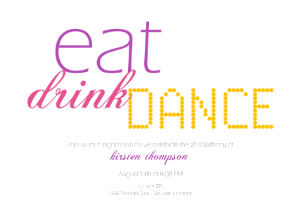 Eat Drink Dance