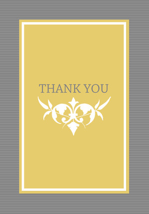 wedding thank you cards simple white flower by mixbook