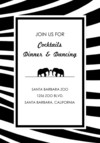 Zebra Print Reception