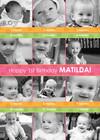 Pink and Orange 1st Birthday Collage