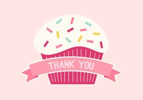 Birthday Cupcake - Pink