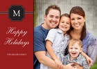 Family Holiday Monogram