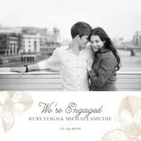 Light Floral Engagement