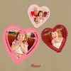 Doily Hearts