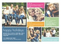 Color Block Holiday Collage