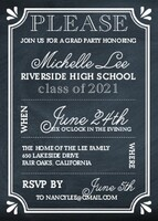 Chalk Grad Party