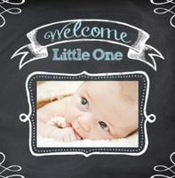 Chalkboard Baby Boy