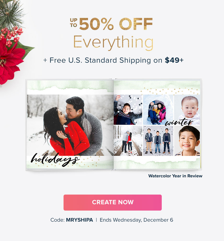 Up to 50% Off + Free U.S. Standard Shipping on $49+