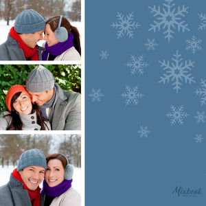 Modern Holiday Photo Strip