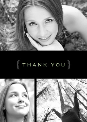 Modern Thank You Photo Collage