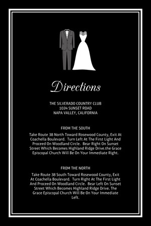 All Dressed Up - Directions