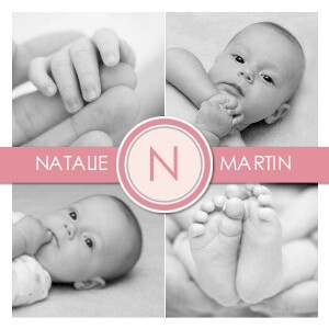 Four Photo Monogram