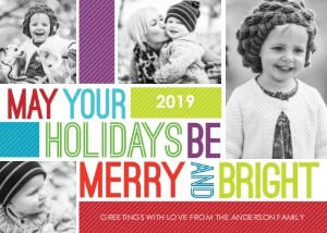 Colorful Holiday Greetings