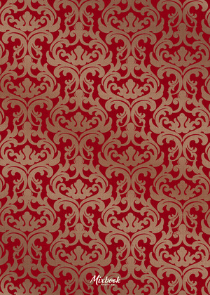 Holiday Red Damask