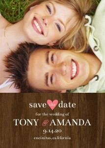 Save the Date Cards - Classic Portrait by Mixbook
