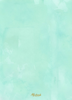 Teal Watercolor