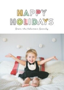 Happy Holidays by Studio Calico