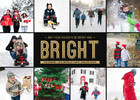 Christmas Cards - Bright by Mixbook
