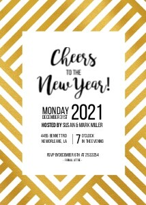 Mod New Year Invitation