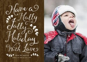 Rustic Holiday Greeting