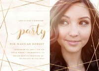 Geometric Party Invitation