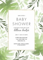 Greenery Shower