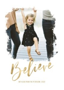 Believe Holiday Script