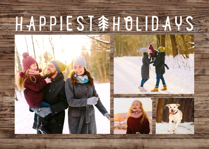 Rustic Happiest Holiday