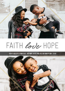 Faith Love Hope Diamond Frame