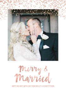 Merry & Married Rose Gold