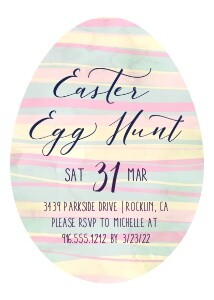 Easter Egg Hunt Invitation