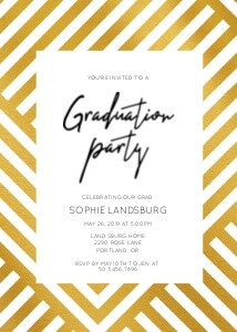 Grad Painted Party