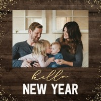Rustic Year in Review Calendar